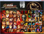 Mortal Kombat Vs Street Fighter